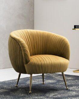 Gemma Velvet Tub Chair