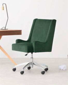 Higgs Velvet Office Chair