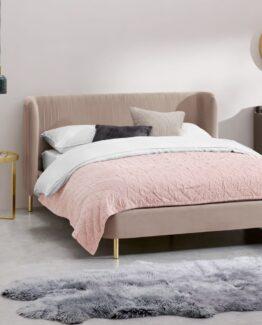 Ilana Velvet Bed