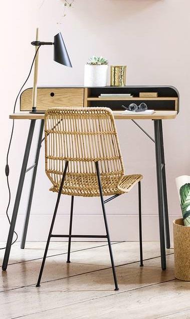 Jimi Metal & Wood Desk