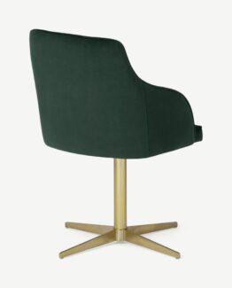 Keira Velvet Office Chair