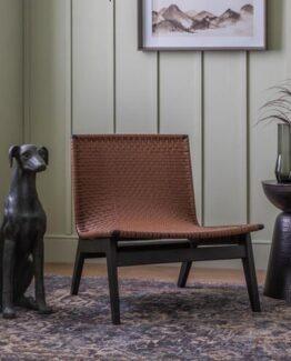 Logan Leather Lounge Chair