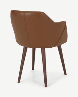 Lule Leather Carver Chair