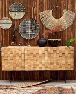 Madria Oak Sideboard