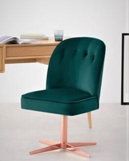 Margot Velvet Office Chair
