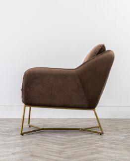 Morena Velvet Armchair