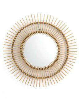 Nogu Cane Sunburst Mirror