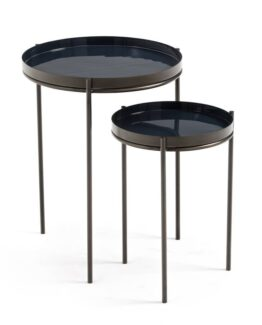 Picabea Nesting Side Tables Blue