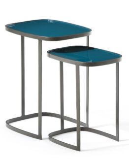 Picabea Nesting Side Tables Peacock