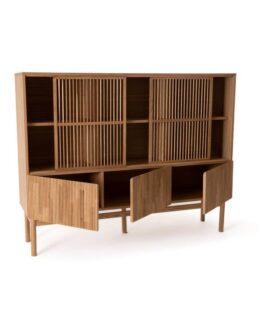 Pilpao Oak Bookcase