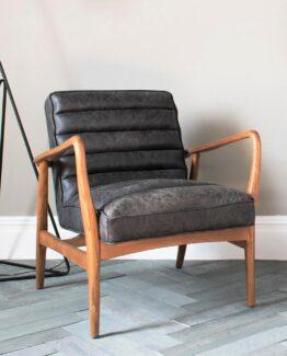 Scott Ebony ArmchairScott Ebony Armchair