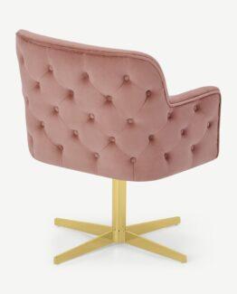 Upton Velvet Office Chair